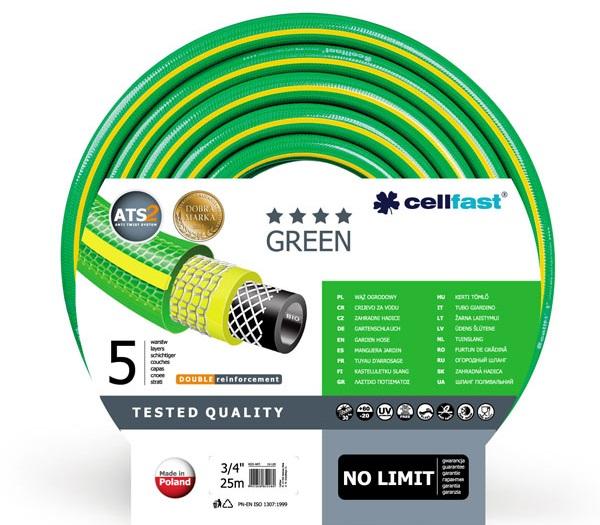 Шланг армированный пятислойный Green