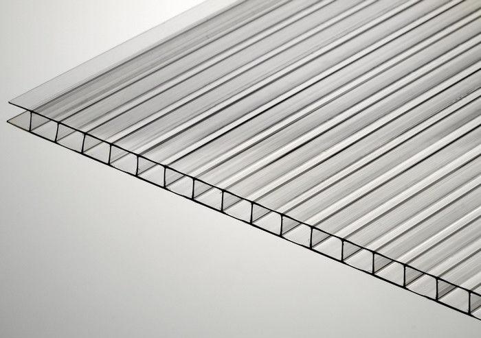Сотовый прозрачный поликарбонат, 8 мм, Polygal