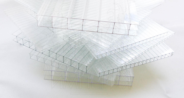 Сотовый прозрачный поликарбонат