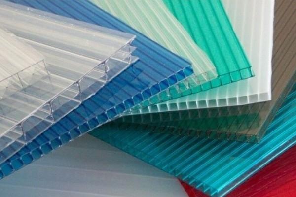 Виды и цвета поликарбоната