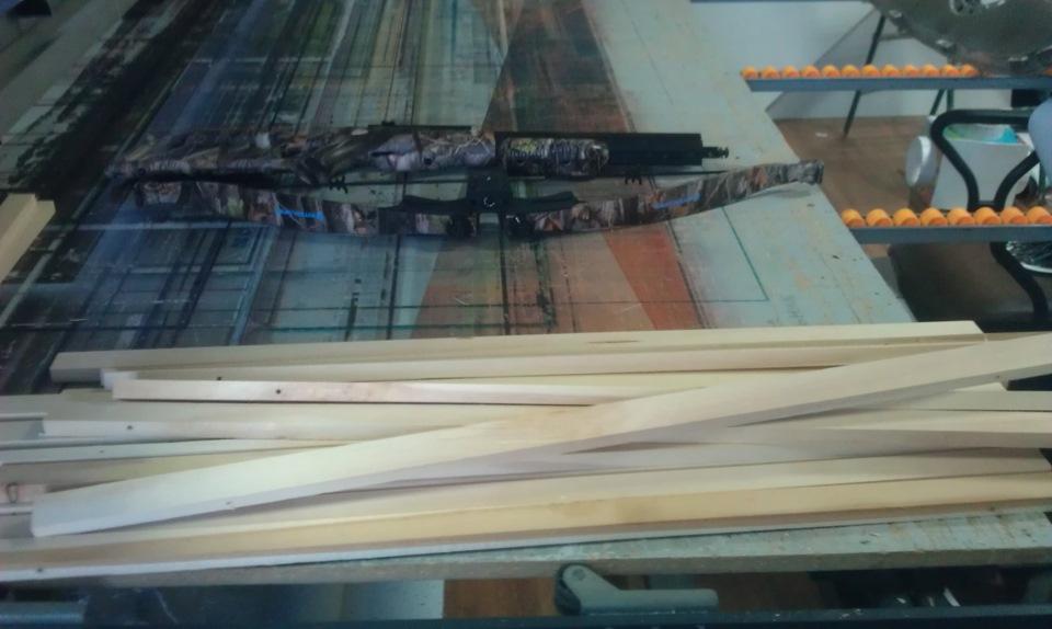 Вначале нужно подготовить деревянные бруски