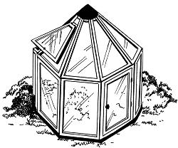 Многоугольная теплица