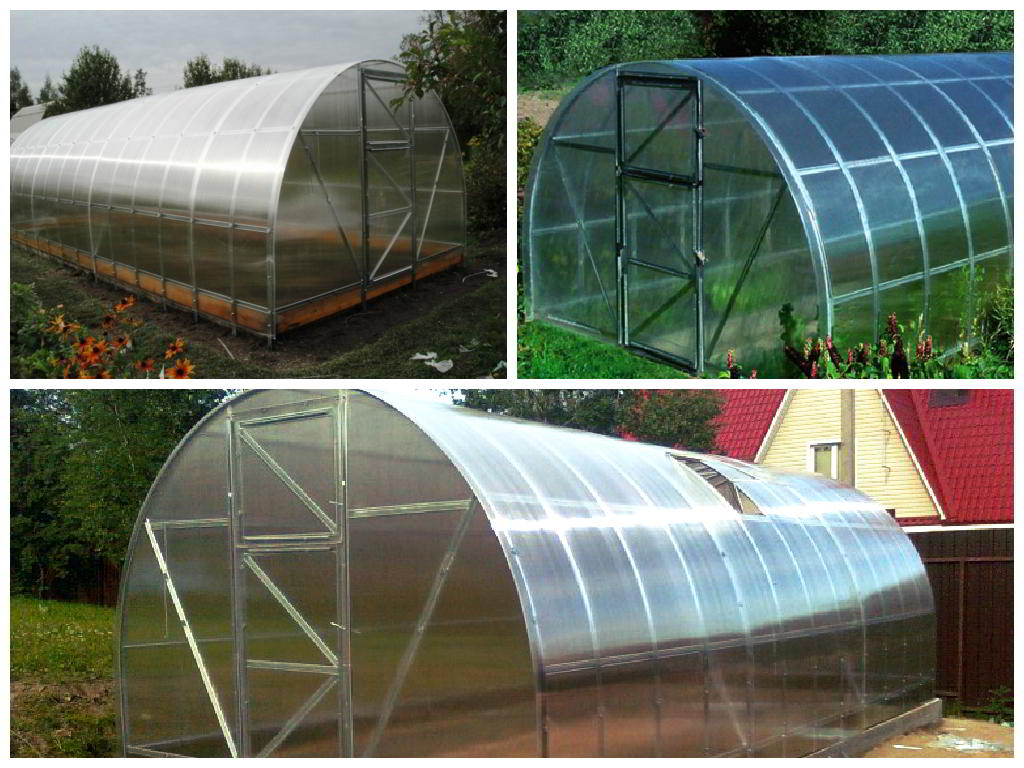 Модель арочной теплицы «Дачная 2 ДУМ» — это надежная конструкция для выращивания овощей и сбора хорошего урожая