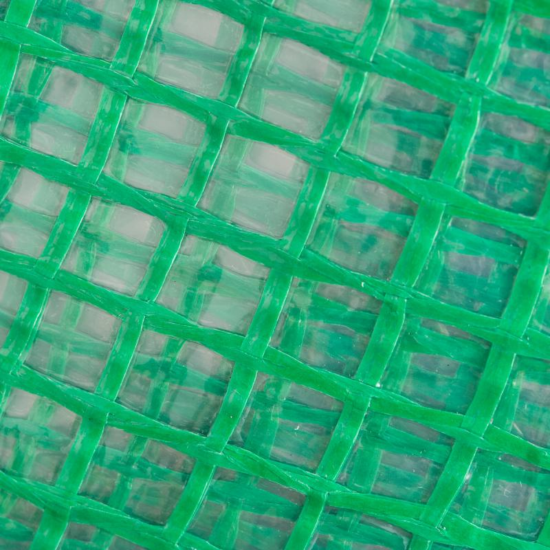 Пленка полиэтиленовая зеленая армированная, 200 мкр., 6х4 м