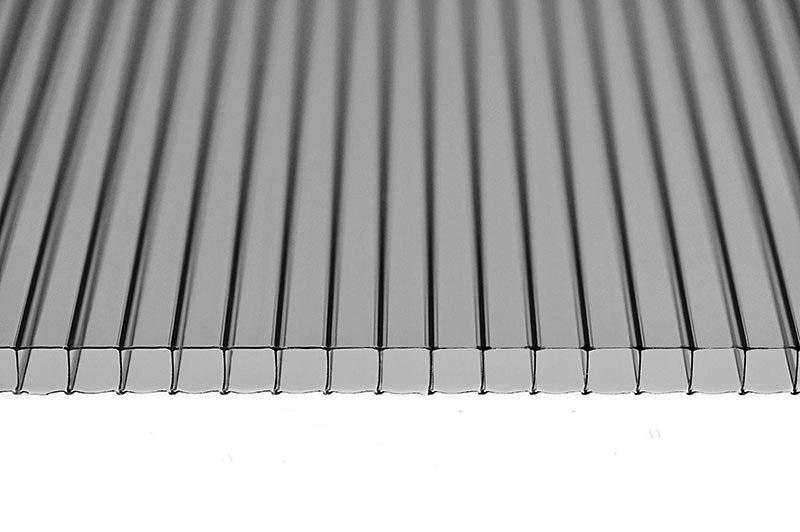 Поликарбонат сотовый BeroluX (бронза серая)