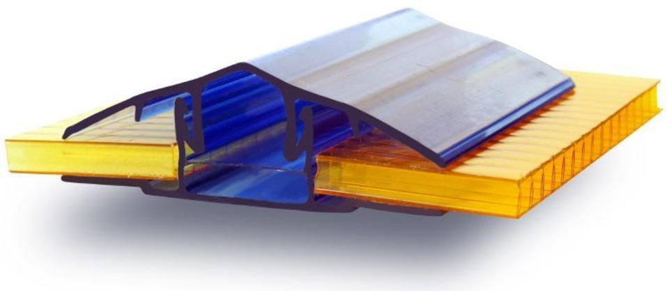 Разъемный профиль для монтажа сотового поликарбоната