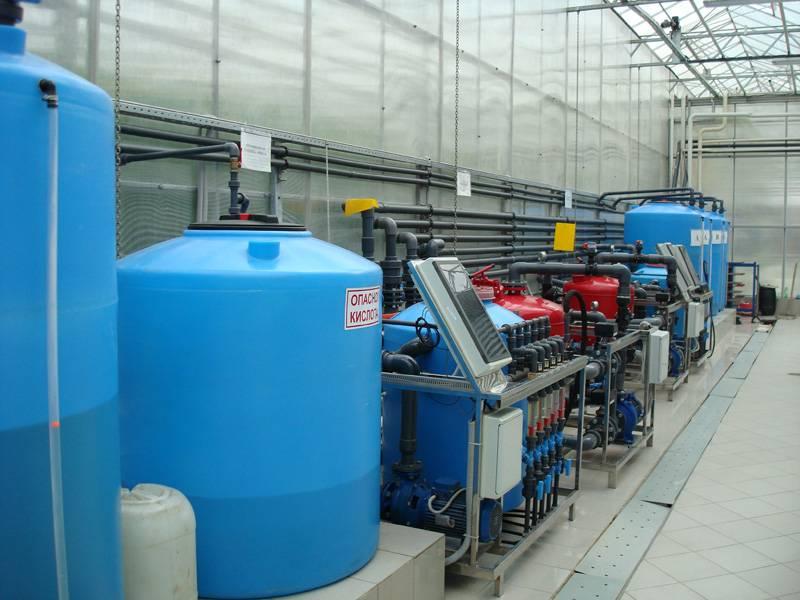 Система водоподготовки и капельного полива