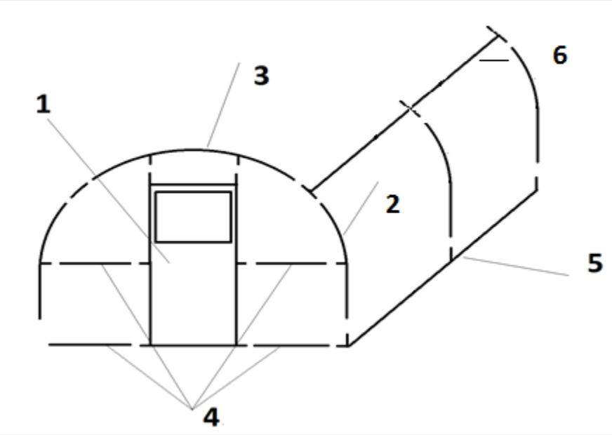 Схема сборки каркаса