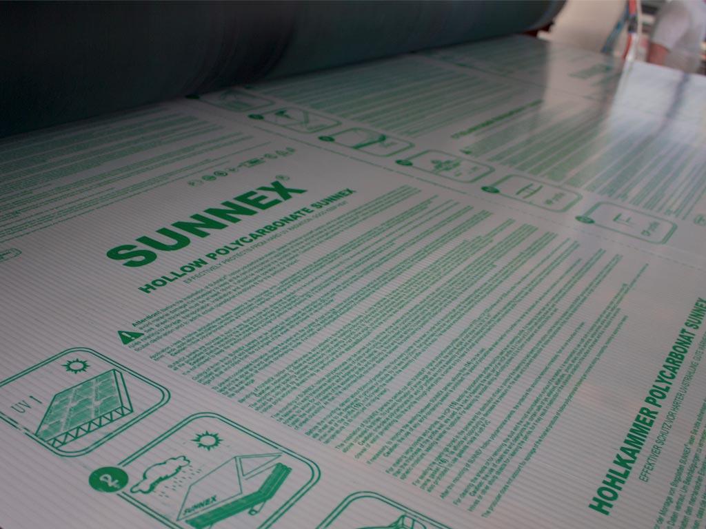 Сотовый поликарбонат Sunnex