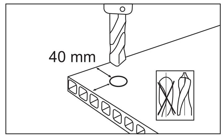 Сверление сотового поликарбоната