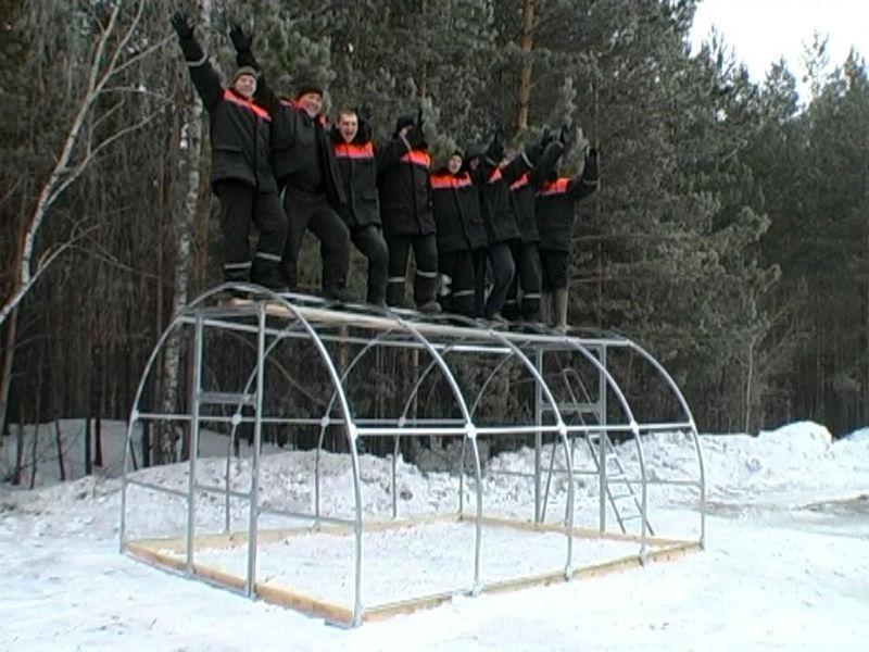 Теплица «Сибирская» - оптимальный вариант для суровых зим