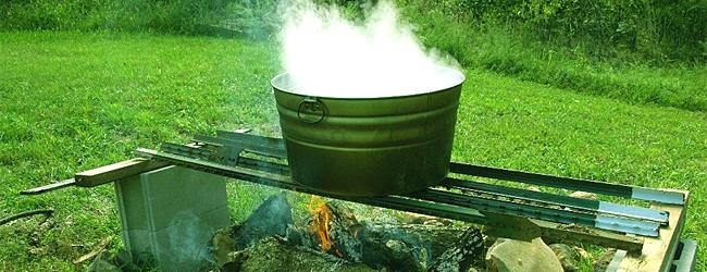Термическая обработка грунта