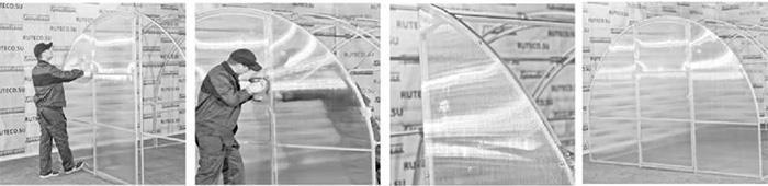 Крепление боковых торцевых панелей