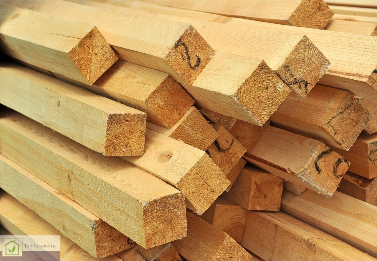 Деревянные бруски 50*50 мм