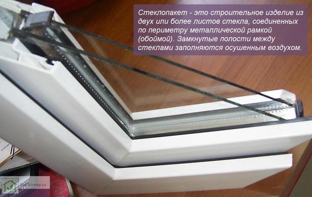 Что такое стеклопакет?