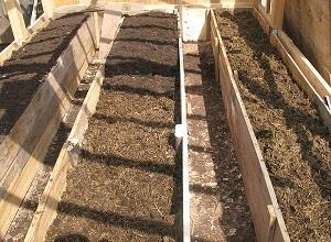 Укладка плодородного грунта