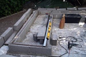 Подготовка коробов под грядки