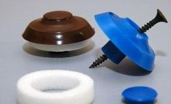 Саморезы с полимерной термошайбой