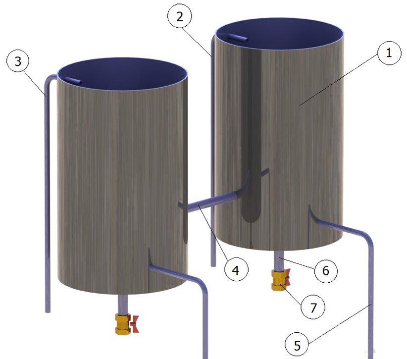 Бочки для нагрева воды