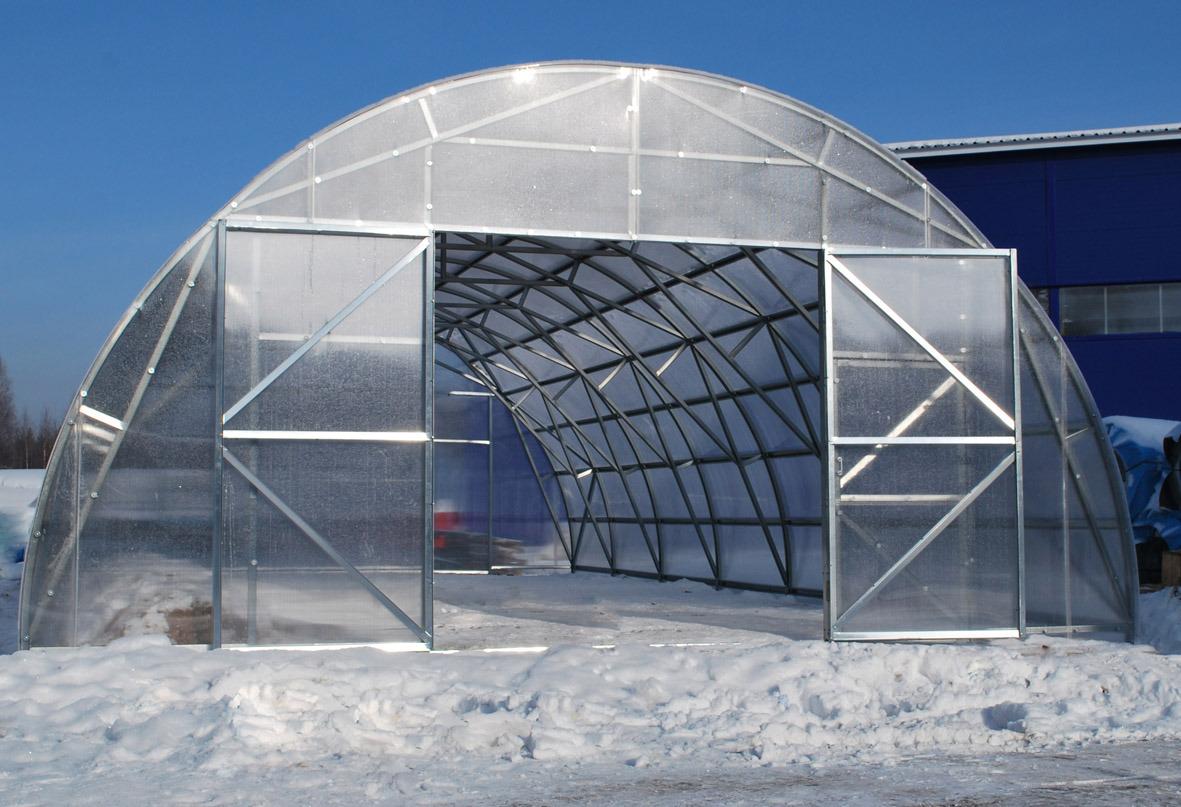 Фермерская и промышленные теплицы из поликарбоната