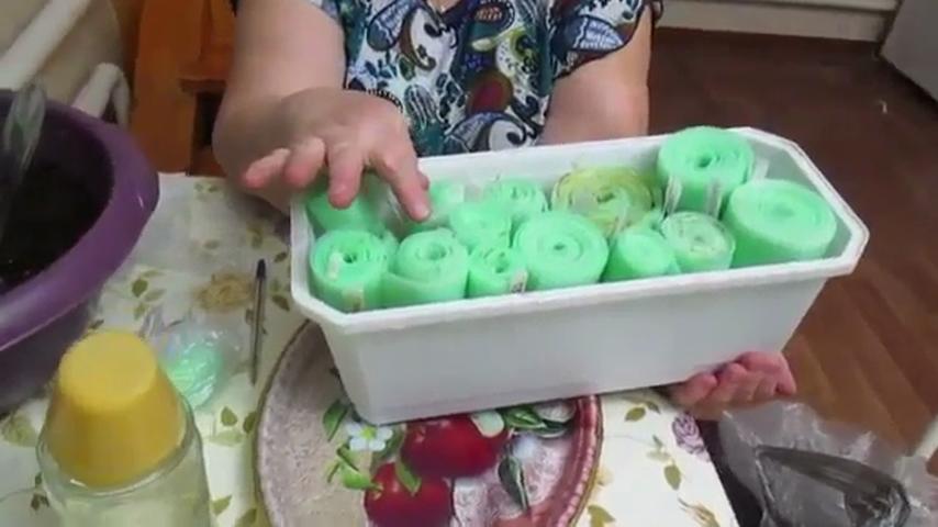 Готовые рулоны в ящике