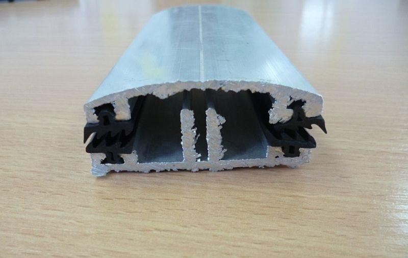 Коньковый алюминиевый профиль