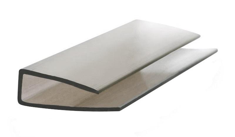 Kronos профиль торцевой для поликарбоната 2,1м