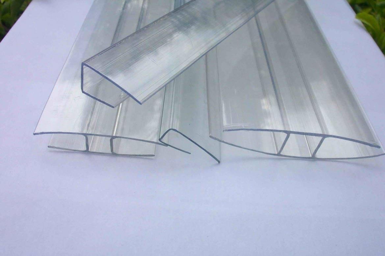 Профили для крепления сотового поликарбоната