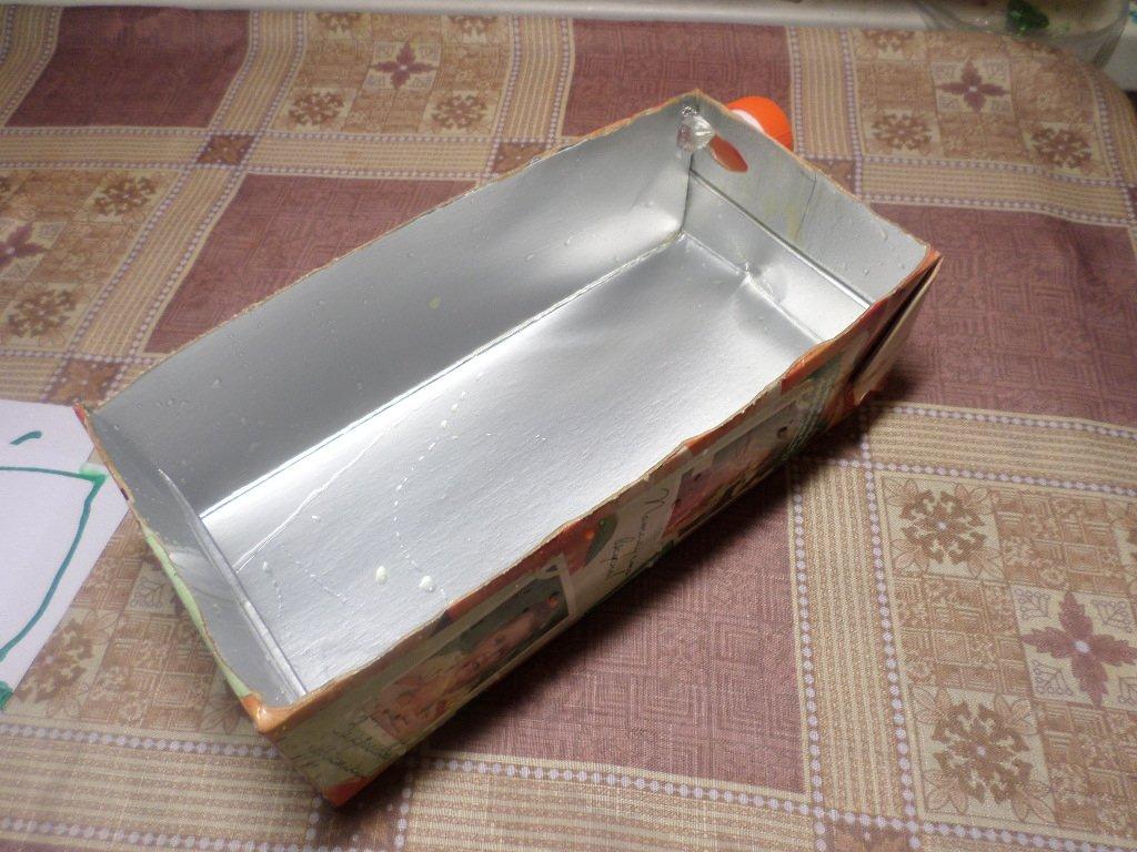 Самодельный рассадный ящик