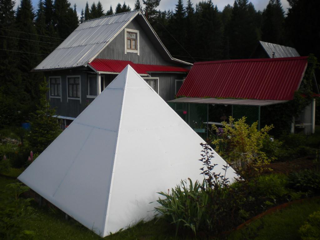 Теплица-пирамида
