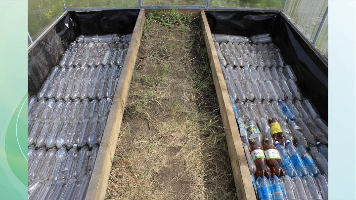 Теплоизоляция пластиковыми бутылками