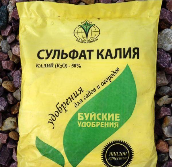 Удобрение сульфат калия