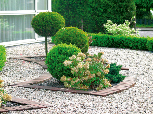 Гравийный сад - ухоженные клумбы без постоянных забот