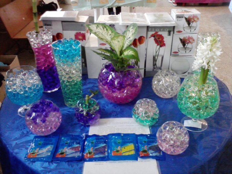 Цветы в гидрогеле купить спб