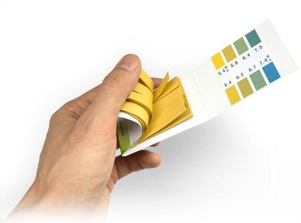 Лакмусовая бумага для определения pH