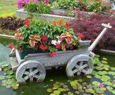Новая жизнь старых вещей - поделки для сада