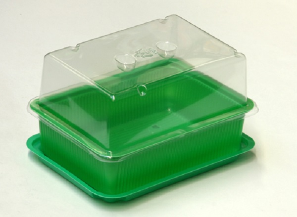 Пластиковый контейнер с прозрачной крышкой