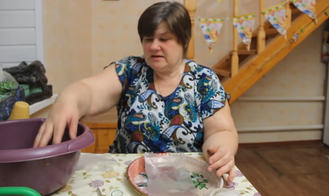Подготовка пакета-пеленки