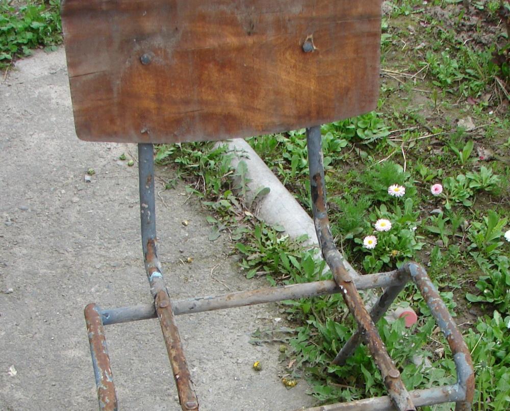 Подготовка старого стула