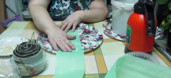 Полосы из подложки для ламината