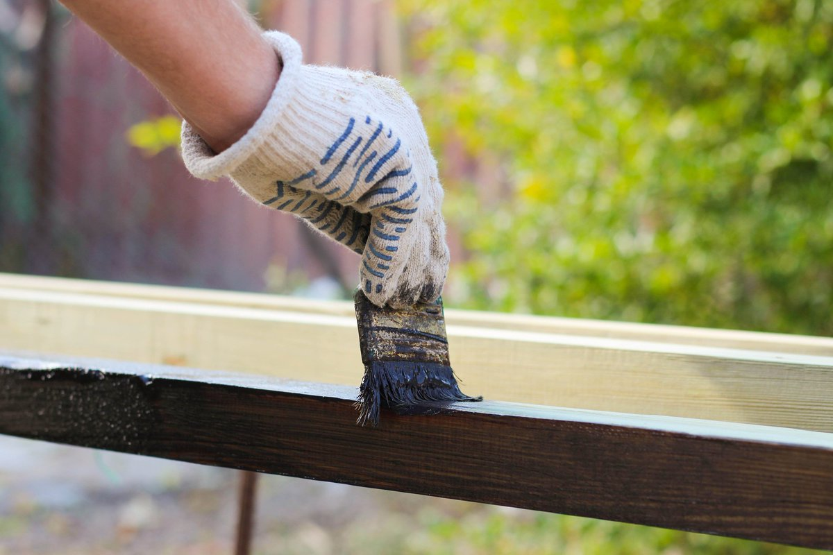 Предварительная обработка деревянных элементов