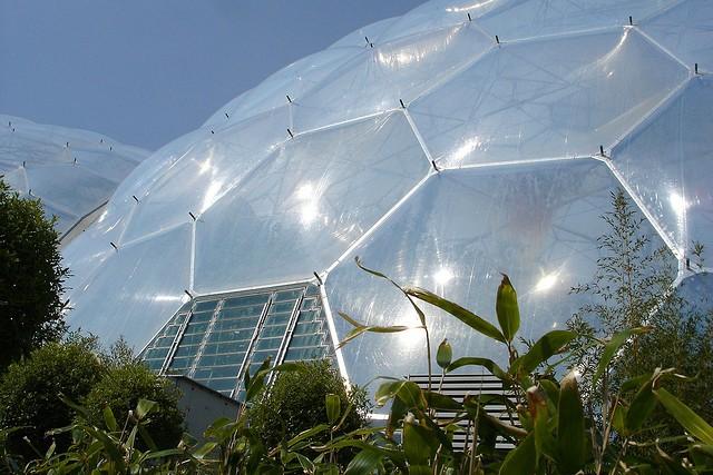 Шестиугольные фрагменты купола
