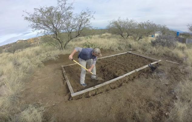 Снятие плодородного слоя почвы