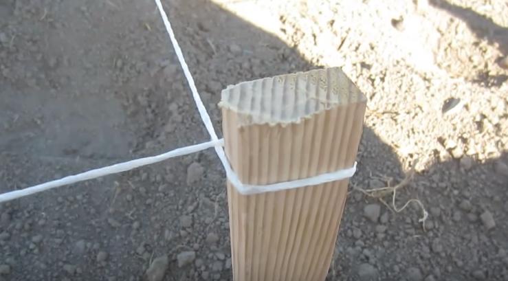 Веревку нужно натягивать на высоте 10 см