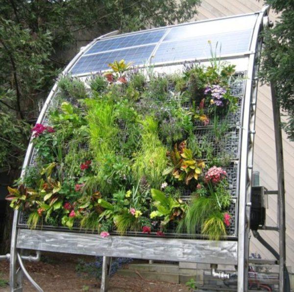 Вертикальное гидропонное выращивание