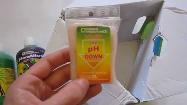 pH-DOWN