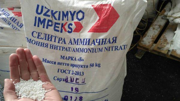 Самым популярным удобрением для укоренения петрушки является аммиачная селитра