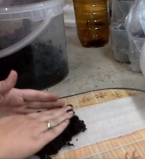 Выкладываем грунт