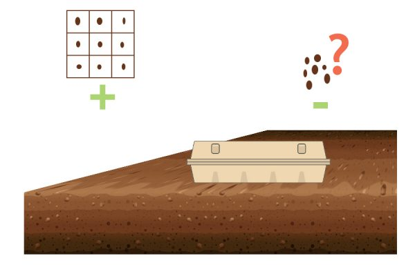 Особенности посадки ячейками