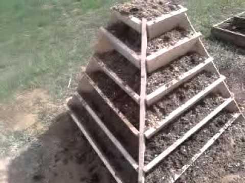Пирамида для выращивания клубники
